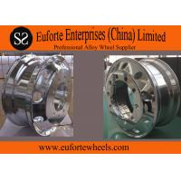 Buy cheap 24 . 5   Chrome  forged aluminum truck wheels / forged replica wheels from wholesalers