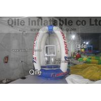 Buy cheap Inflatable Sport Games Small inflatable money machine / booth For Kids from wholesalers