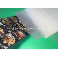 Buy cheap Gloss A5 Laminated Pouches , Heat Seal Laminating Pouches 150 Micron Thickness from wholesalers