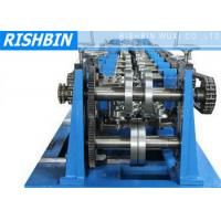 Buy cheap C / Z / U Purlin Roll Forming Machine with 20 Stations for Structural Steel Fabrication from wholesalers