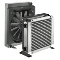 Buy cheap Hydraulic Lubrication Aluminum Air Cooled Heat Exchanger with DC/AC Fan Driven from wholesalers