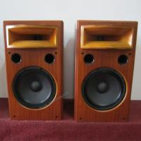 Buy cheap Best Sound Quality Wooden Finished Bookself Audio Speaker With Cover For Cinema Room from wholesalers