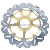 Buy cheap Strong Sunstar Motorcycle Brake Rotors Light Weight With Outside Diameter 296mm product