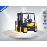Buy cheap 3.0 Ton AC Motor Yellow Electric Forklift Truck Hire With Isuzu C240 Engine from wholesalers