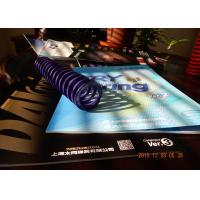 Buy cheap purple  hight deflecation  Spring  SWOSC-V  mold spring     for lamps and lanterns from wholesalers