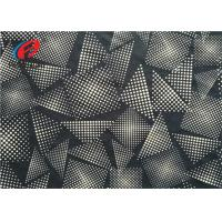 Buy cheap 4 Way Stretch Warp Knit Polyester Spandex Fabric , Digital Print Swimwear Fabric from wholesalers