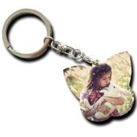 Buy cheap Small Personalised Couple Keychain / Anneversaries Engraved Car Keyring from wholesalers