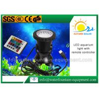 Buy cheap LED Color Changing Submersible Aquarium Light , Fountain Light With Remote Controller from wholesalers