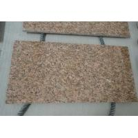 Buy cheap OEM Giallo Fiorito Yellow Natural Granite Tiles for bathroom , kitchen from wholesalers
