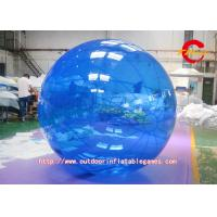 Buy cheap Blue Outdoor Sports Games Inflatable Ball Suit Wooden Floors Use Customized from wholesalers