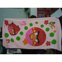 Buy cheap Promotional velour printed beach  towel from wholesalers