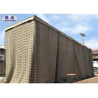 China Galvanized Steel Welded Sand Barrier Hot Dipped Feature SASO Certification on sale