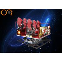 Buy cheap Interactive 5d Cinema Theater / 5d Movie Camera With Special Effects from wholesalers