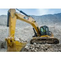 Buy cheap Caterpillar Hydraulic Excavator Heavy Equipment , 5.8Km / H Excavation Equipment from wholesalers