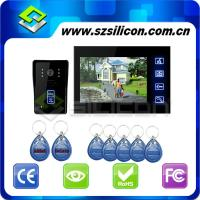 Buy cheap HOT RFID Card Touch Key Video Door Intercome ,7 inch TFTLCD Monitor Video Door Phone Doorbell, Hyun black piano lacquer from wholesalers