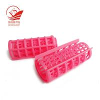 Buy cheap Nylon Ornament Hook Loop Plastic Hair Rollers / Hot Curlers For Long Hair from wholesalers