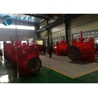 Buy cheap Fully Closed Body Ductile Iron Pinch Valve Handwheel Operation For Sand And Gravel from wholesalers