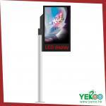 Buy cheap Advertising Frame LED illuminated aluminium light box frame from wholesalers