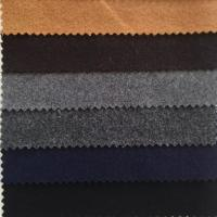 Buy cheap Graceful Color Wool Melton Fabric Soft Hand Feeling Fit Women / Men'S Garment from wholesalers