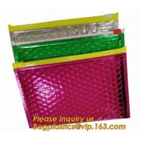 Buy cheap Slider Padded Bags/Colorful Ziplockk Bubble Bags,Zipper Bubble Bag Postage Packaging Anti-static Packaging Heat Insulatio from wholesalers