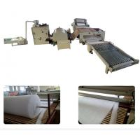 Buy cheap Automatic Polyester Mattress Production Line High Efficient 150 Kg/H Capacity from wholesalers