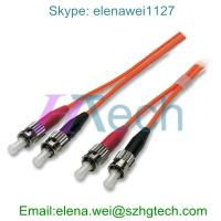 Buy cheap Optical Fiber Patch Cord ST/ST Fiber Optical Cable from wholesalers
