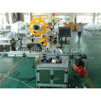 China 700W Motor Automatic Labeling Machine Adhesive Bottle Label Applicator Machine on sale