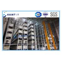 Buy cheap Intelligent Automated Storage Retrieval System , AS RS Automated Pallet Racking Systems from wholesalers
