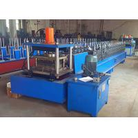 Buy cheap Metal Rack Roll Forming Machine , Automatic Width Adjust Shelf Panel Roll Former from wholesalers