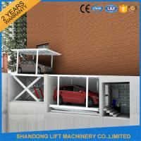 China CE Double Parking Car Lift , Residential Garage Portable Car Hoist Equipment on sale