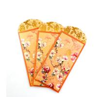 Buy cheap 150gsm Money Gift Envelopes Yellow Fancy Paper Color Printing Ang Bao Envelop from wholesalers