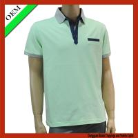 Buy cheap Pique polo t-shirt , 100%cotton short sleeve polo t-shirt from wholesalers