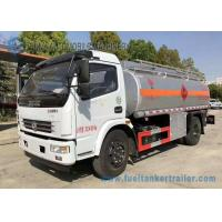 Buy cheap Diesel / Gasoline 4*2 Liquid Tank Trailers 86000 L Carbon Steel 150hp from wholesalers