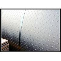 Buy cheap Hot rolled Mild Steel Diamond Plate Sheet A36 for Non Slip Stair Treads / Checker Plate Flooring from wholesalers