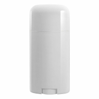 Quality Empty Plastic PP Oval Shape Deodorant Container Recyclable for sale