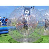 Buy cheap 150kg Load Inflatable Zorb Ball , Inflatable Zorb Human Hamster Ball High Safety from wholesalers