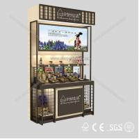 Buy cheap New style cosmetic MDF retail product display stands from wholesalers