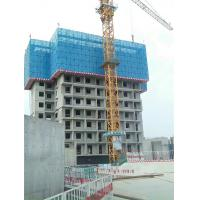 Buy cheap Powder Coated Scaffold Safety Netting With Frame 20 * 20MM Square Pipe Protection from wholesalers