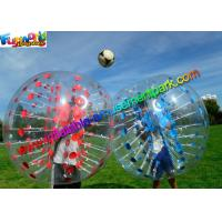 Buy cheap Colorful TPU Inflatable Bumper Ball , Zorb Bubble Soccer Ball For Humans from wholesalers