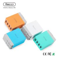 Buy cheap RECCI brand Cube Series AC Adaptor with 4 USB Ports from wholesalers