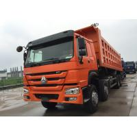 Buy cheap Low Fuel Consumption Efficient Tipper Dump Truck 371HP 8x4 RHD SINOTRUK HOWO from wholesalers