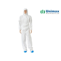 Buy cheap Chemical Resistant Antistati ISO Disposable Protective Coveralls from wholesalers