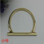 Buy cheap Handmade bag hardware holder light gold 85 mm metal accessory bag metal handle from wholesalers