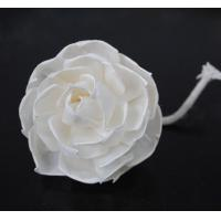 Buy cheap Home / Wedding Decoration Handmade Diffuser Flower, Custom Sola Wood Flowers MS-FD002 from wholesalers