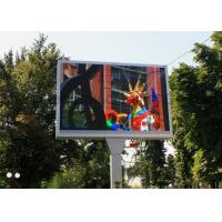Buy cheap Programmable large LED display panels / LED moving message display waterproof from wholesalers