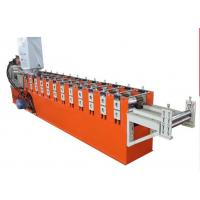 Galvanized Steel Guiding Column Shutter Door Roll Forming Machine Thickness 1.5-3.0mm