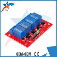Buy cheap Demo Code 4-channel Arduino Relay Module , 5V / 12V Relay Control Module from wholesalers