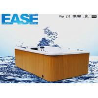 Buy cheap Acrylic whirlpool massage outdoor swim spa hot tub with 75pcs Jet pump, 38A, 3500mm × 2250mm × 1070mmH from wholesalers