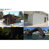 Buy cheap Movable 5D Cinema On Truck For  Product Promotion With Vibration, Leg Sweep Motion Chair product