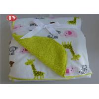 Buy cheap Soft Printed Warm Baby Blanket Minky Fleece Baby Throw Plush Sherpa Fleece Layer For Boys Girls from wholesalers
